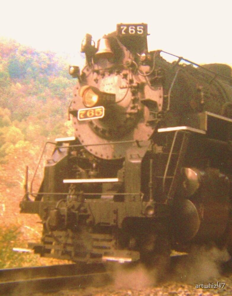 The New River Train ~ She Walks In Beauty by artwhiz47