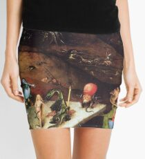 Visions of Hell - Hieronymus Bosch Mini Skirt