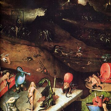 Visions of Hell - Hieronymus Bosch by Geekimpact