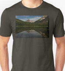 Morning at Fishercap Lake Slim Fit T-Shirt