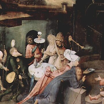 Temptation of Anthony detail - Hieronymus Bosch by Geekimpact