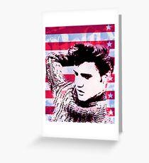 Elvis portrait nº2 Tarjeta de felicitación