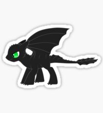 MLP Toothless Sticker