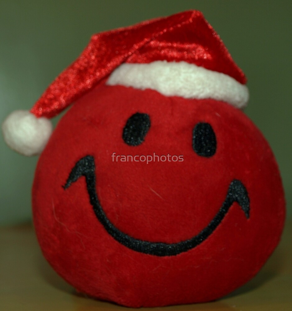 Christmas Smiley by Franco De Luca Calce