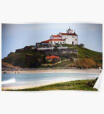Saquarema's Church - Beach - Brazil Poster