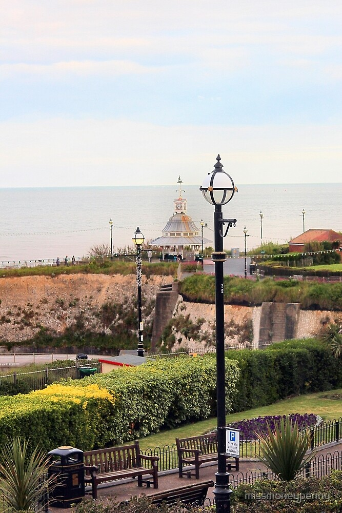 Sea view and band stand - Broadstairs by missmoneypenny