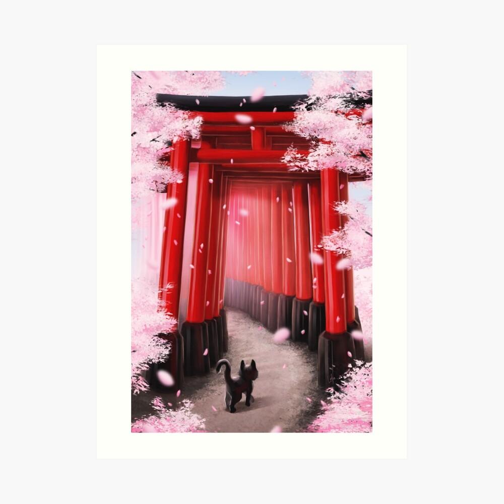 Impression artistique «Sakura»