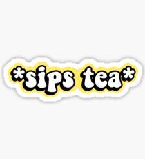 Schluck Tee Sticker