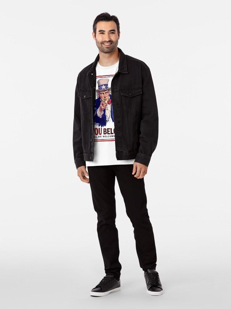 Alternate view of YOU BELONG Premium T-Shirt