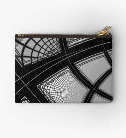 Monochrome Pattern 007 Zipper Pouch