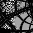 Monochrome Pattern 007 by Rupert Russell