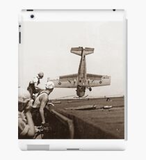 World War 2 Aircraft crash  iPad Case/Skin