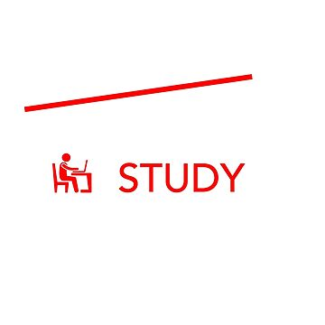Eat Sleep Study Repeat Student Studying Item by DrVx