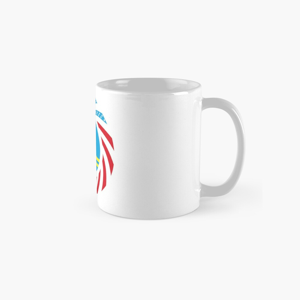 Aruban American Multinational Patriot Flag Series Mug