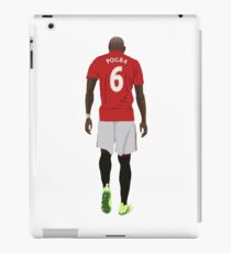 Paul Pogba Manchester United Return iPad Case/Skin