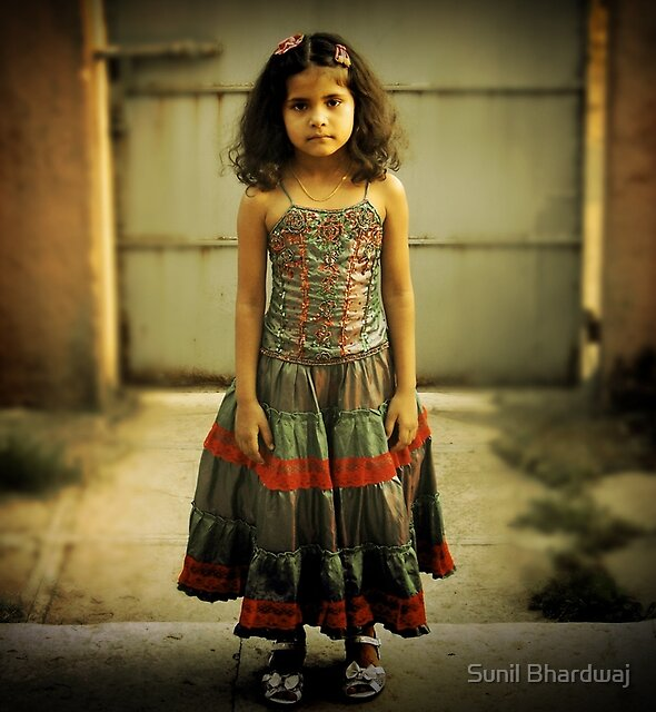 Sad Girl  by Sunil Bhardwaj