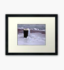 Frozen Bin  Framed Print