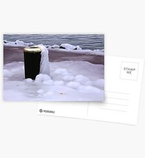 Frozen Bin  Postcards