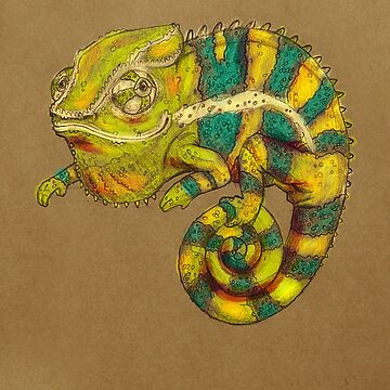 Panther Chameleon by Jenji