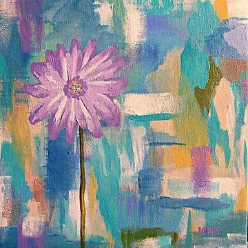 Purple Daisy  by marymirabalart