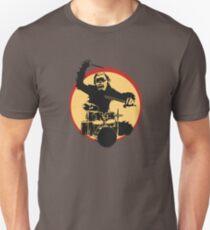 Camiseta unisex Baterista de gorila