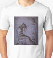 Sarcophagi sculpture another mourning lady  Unisex T-Shirt