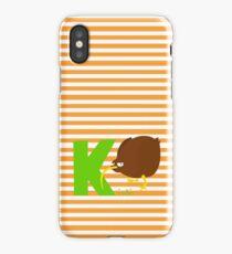 k for kiwi iPhone Case
