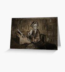 Librarian woman Greeting Card
