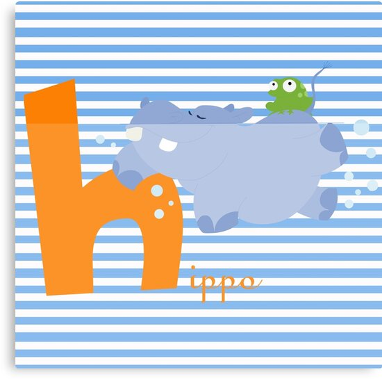 h for hippo by alapapaju