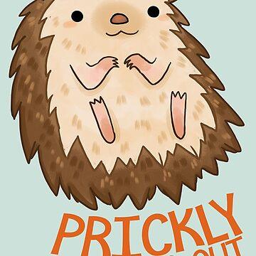 Prickly Hedgehog by michelledraws