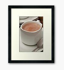 Hot Cocoa Framed Print