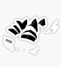 opera house now available in black Sticker