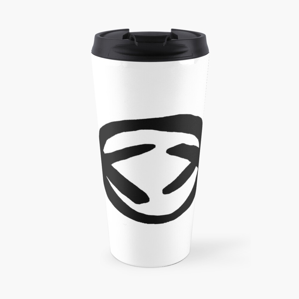 Slendyhead Travel Mug