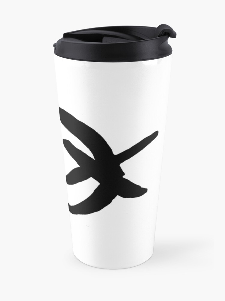 Alternate view of Slendyhead Travel Mug