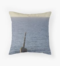 Cottesloe Pylon (March 2009) Throw Pillow