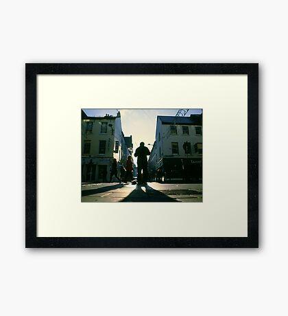 fiddler on marlboro street Framed Print