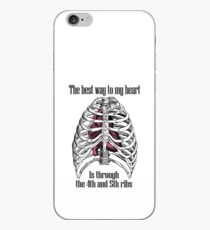 The Best Way to My Heart iPhone Case