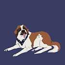 Saint Bernard by Samantha Fowler