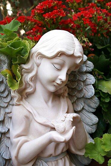Caring; Wat Garden La Mirada, CA USA  by leih2008