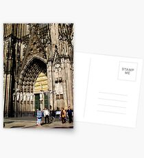 Cologne Cathedral Main Door Postcards