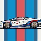 Martin Jag XJ220 Italian GT Championship by Tom Mayer