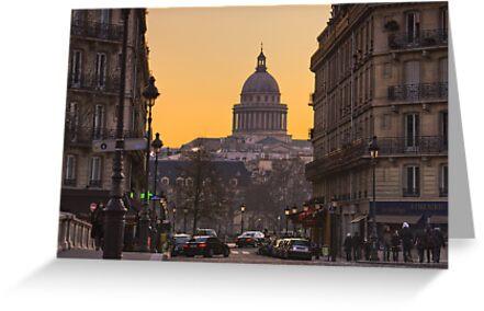 Pantheon, Paris by Irina-C