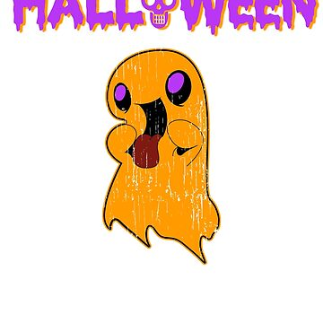 Halloween nice Ghost Holiday T shirt by we1000