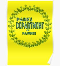 Pawnee Parks and Rec Poster