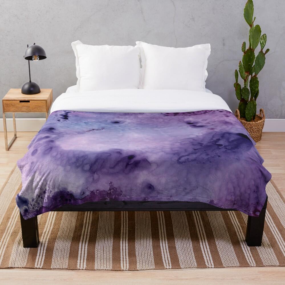 Mystical Mirage Throw Blanket