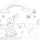Chasing butterflies by minnu