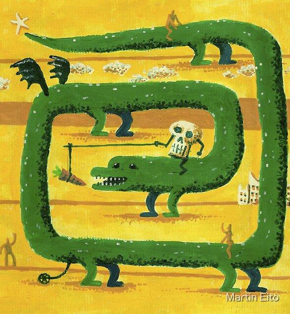 Green thread by Martin Eito