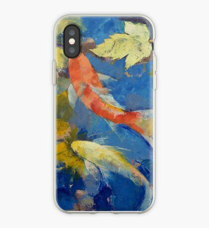 Autumn Koi Garden iPhone Case