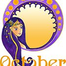 Lady October by Cynthia Haller