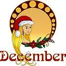 Lady December by Cynthia Haller